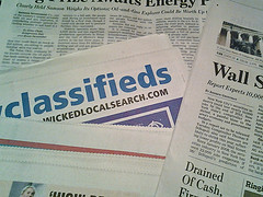 Check out local classifieds, jobs, and yardsales.